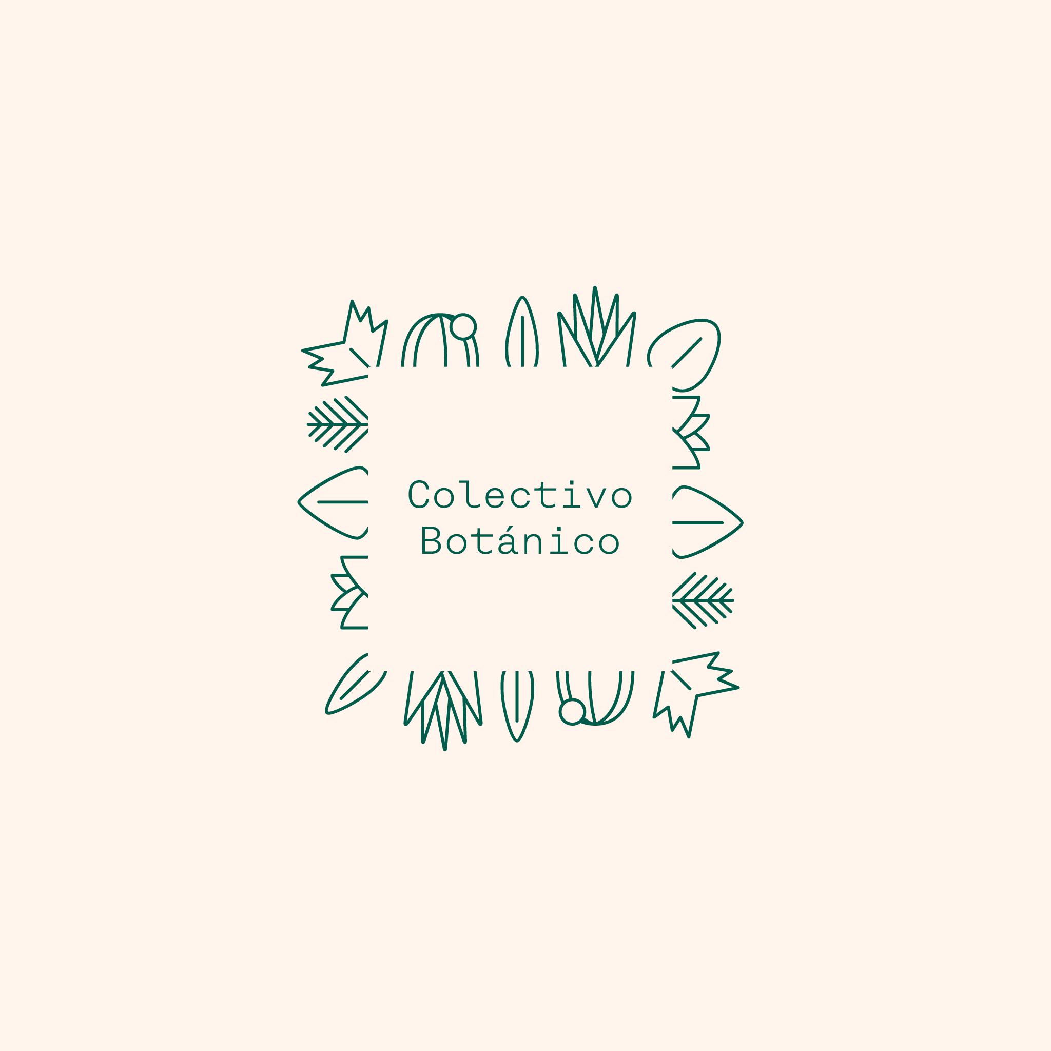 Identidad Gráfica para Colectivo Botánico 2017