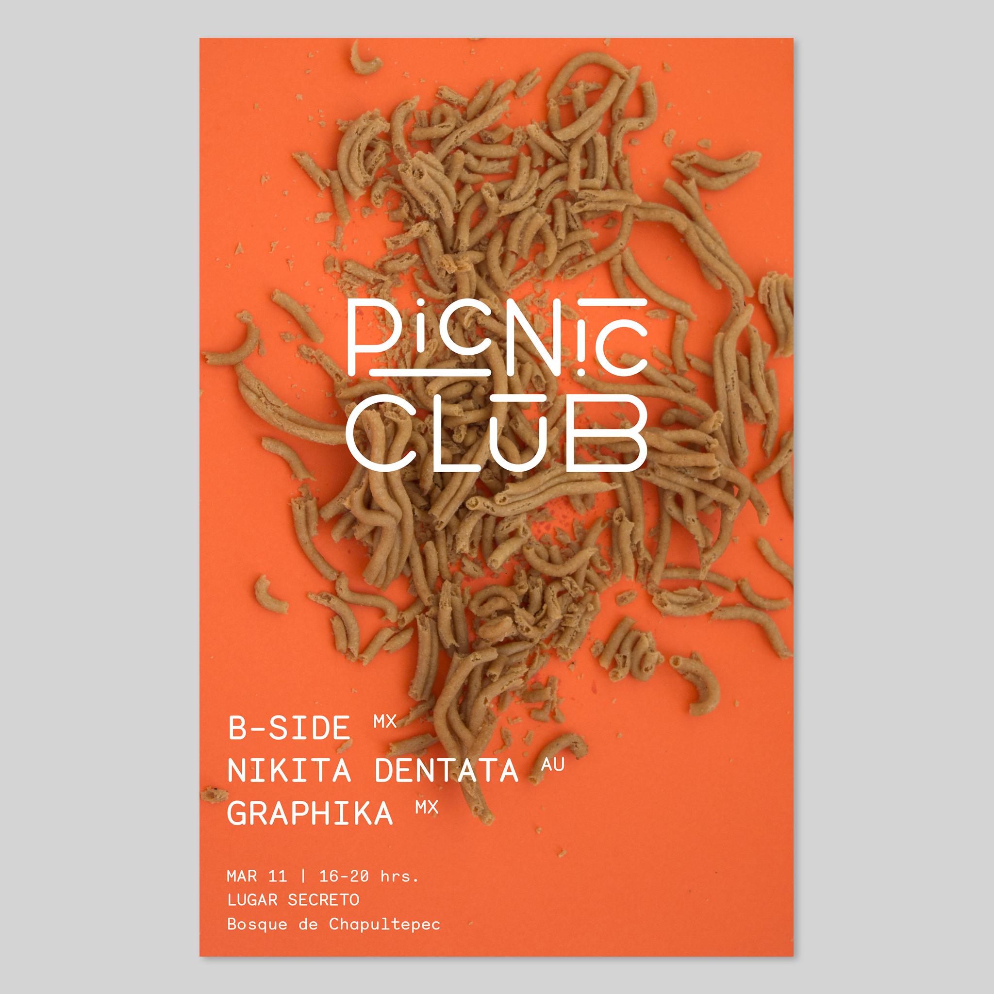 Identidad para Picnic Club 2017