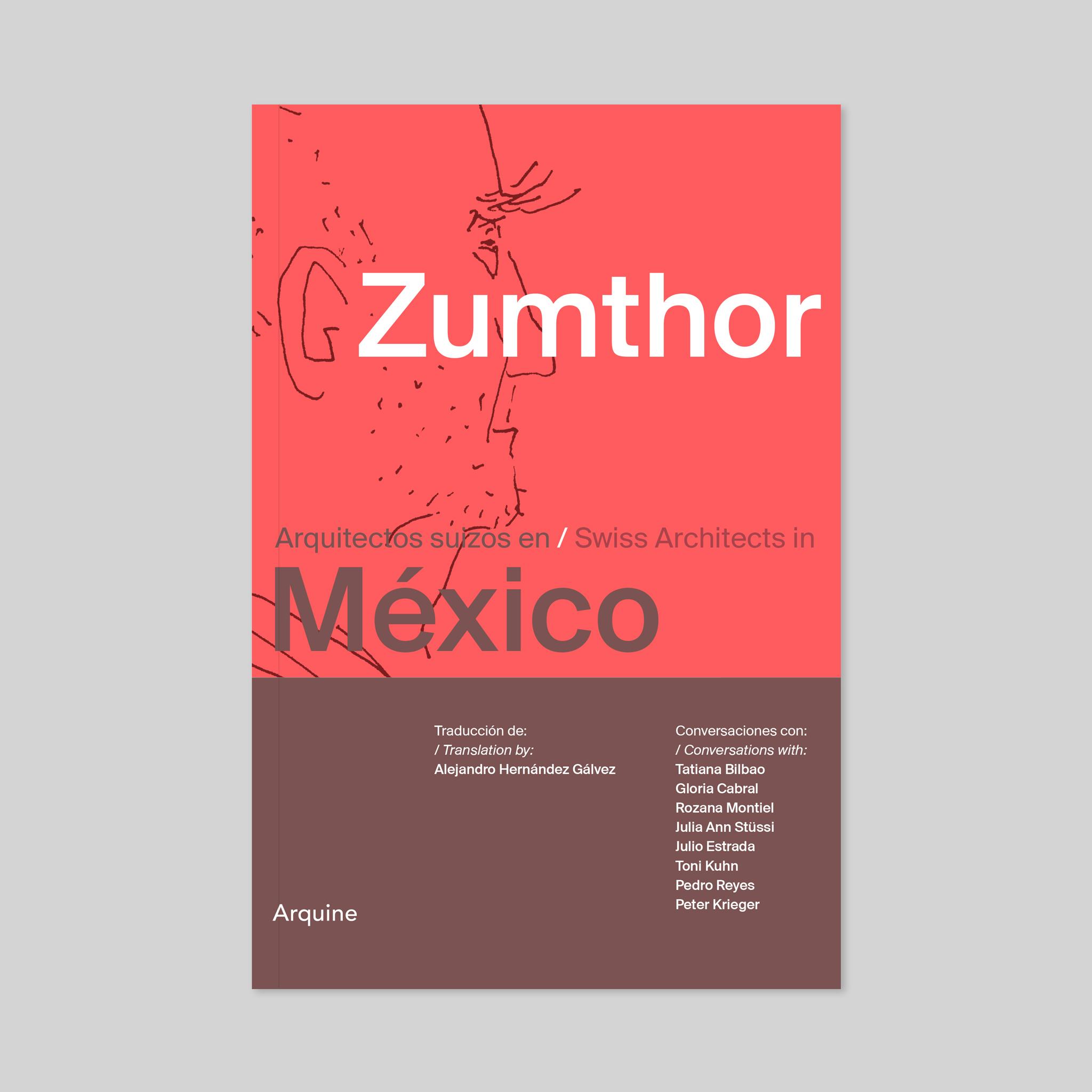 Diseño Editorial para Peter Zumthor en México